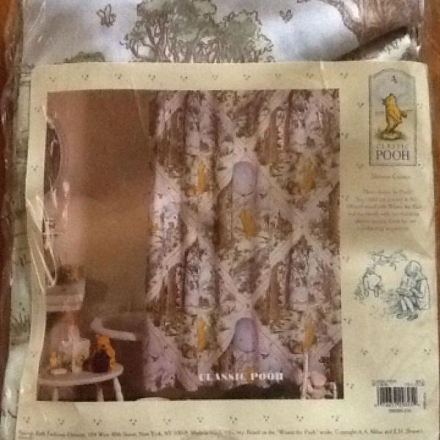 Best Classic Winnie The Pooh Shower Curtain for sale in Rosenberg ...