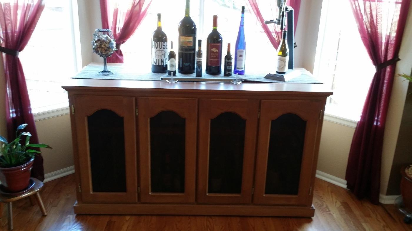 La Cache Wine Credenza : Best le cache wine credenza cooler buffet for sale in