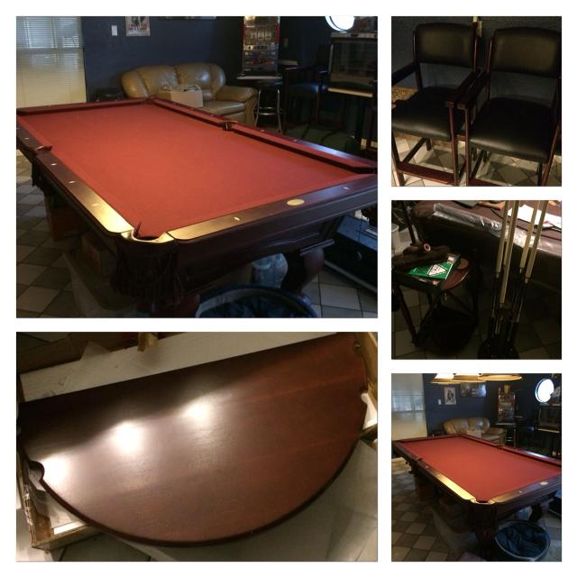 Find More Cannon Slate Regulation Size Pool Table For Sale At Up - Cannon pool table
