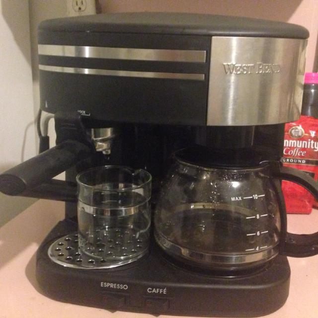 West Bend Coffee Pot And Espresso Machine Have Not Used But