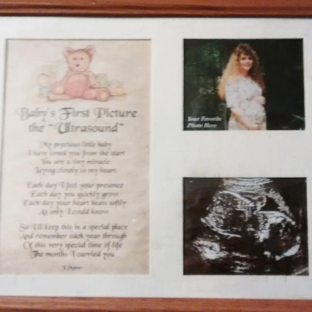 Best Baby\'s First Ultrasound Pic Frame for sale in Fredericksburg ...