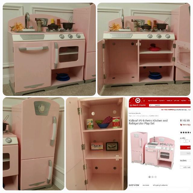 Best Kidkraft Retro Kitchen Pink For Sale In Fredericksburg Virginia 2021
