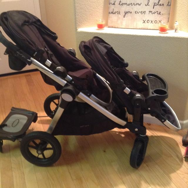 Baby Jogger City Select Double Stroller Black Onyx
