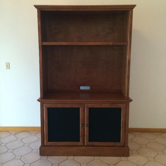Stone Creek Entertainment Center Like New Val Vista Brown