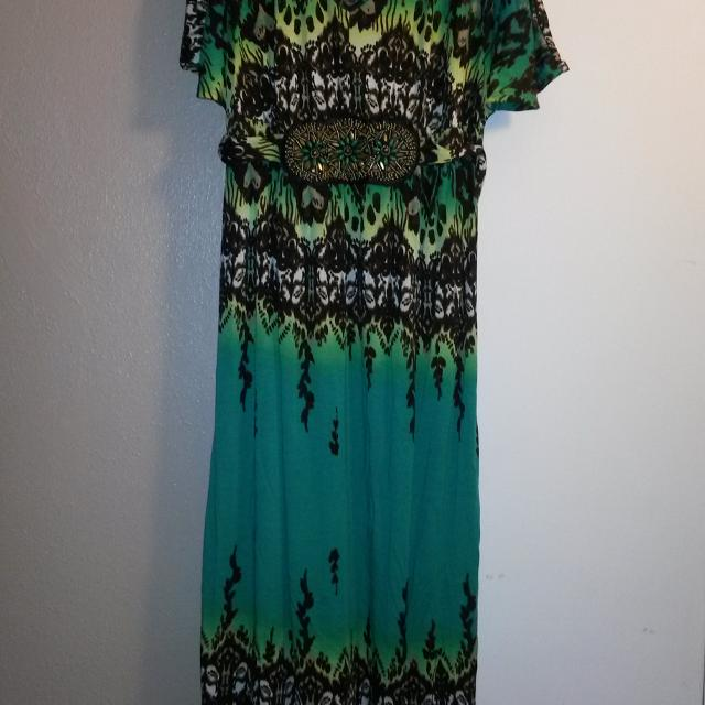 25111591871 Best Faded Glory Maxi Dress. for sale in Kerrville
