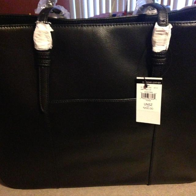 Wilson Leather Bag Front