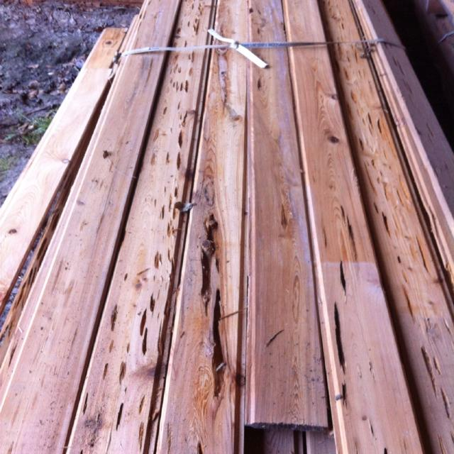 1x6 Tongue And Groove V Joint Pecky Cypress 1 95 Per Linear Foot Curly Have