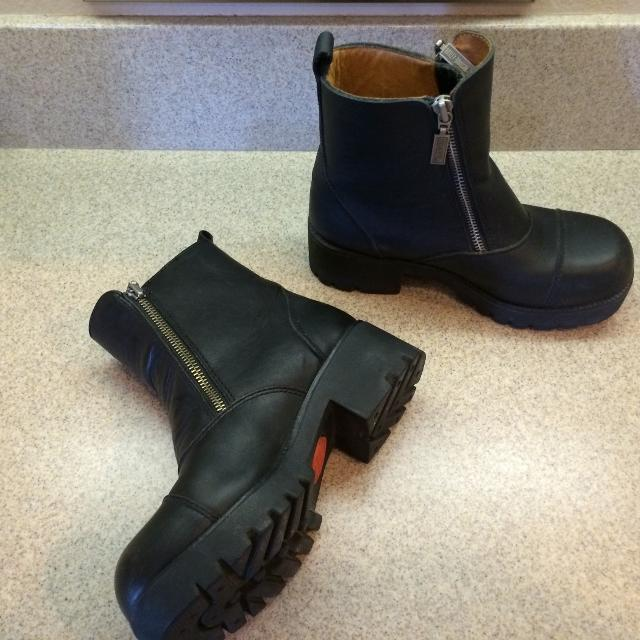 bae47c1e21f0 Best Harley Davidson Women s Black Leather Motorcycle Boots Sz. 5.5 Style    82016 for sale in Murrieta