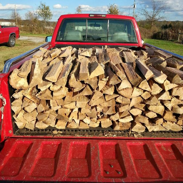 Find More Seasoned Oak Hickory Cherry Firewood For Sale At Up To 90