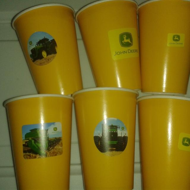 find more 6 cups with john deere stickers for sale at up to 90 off