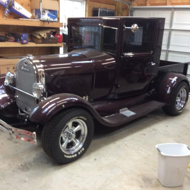 Best 28 A Model Ford Truck Restomod Crate Corvette 350hp C P W Tilt Automatic Oak Bed Mustang Front End S Exhaust For In Mcdonough