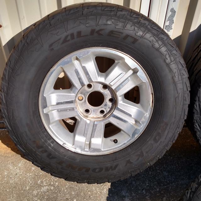 Best Four 285 65r18 Falken Rocky Mountain Ats Tires Wheels For