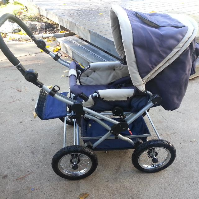 Best Everbright Deluxe Baby Stroller/buggy With Bassinet And Foot ...
