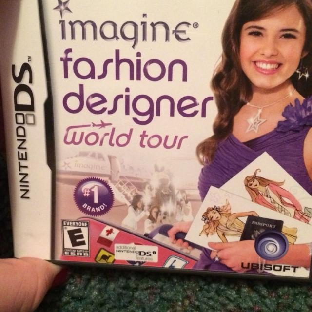Find More Nintendo Ds Game Imagine Fashion Designer World Tour Price Reduction For Sale At Up To 90 Off