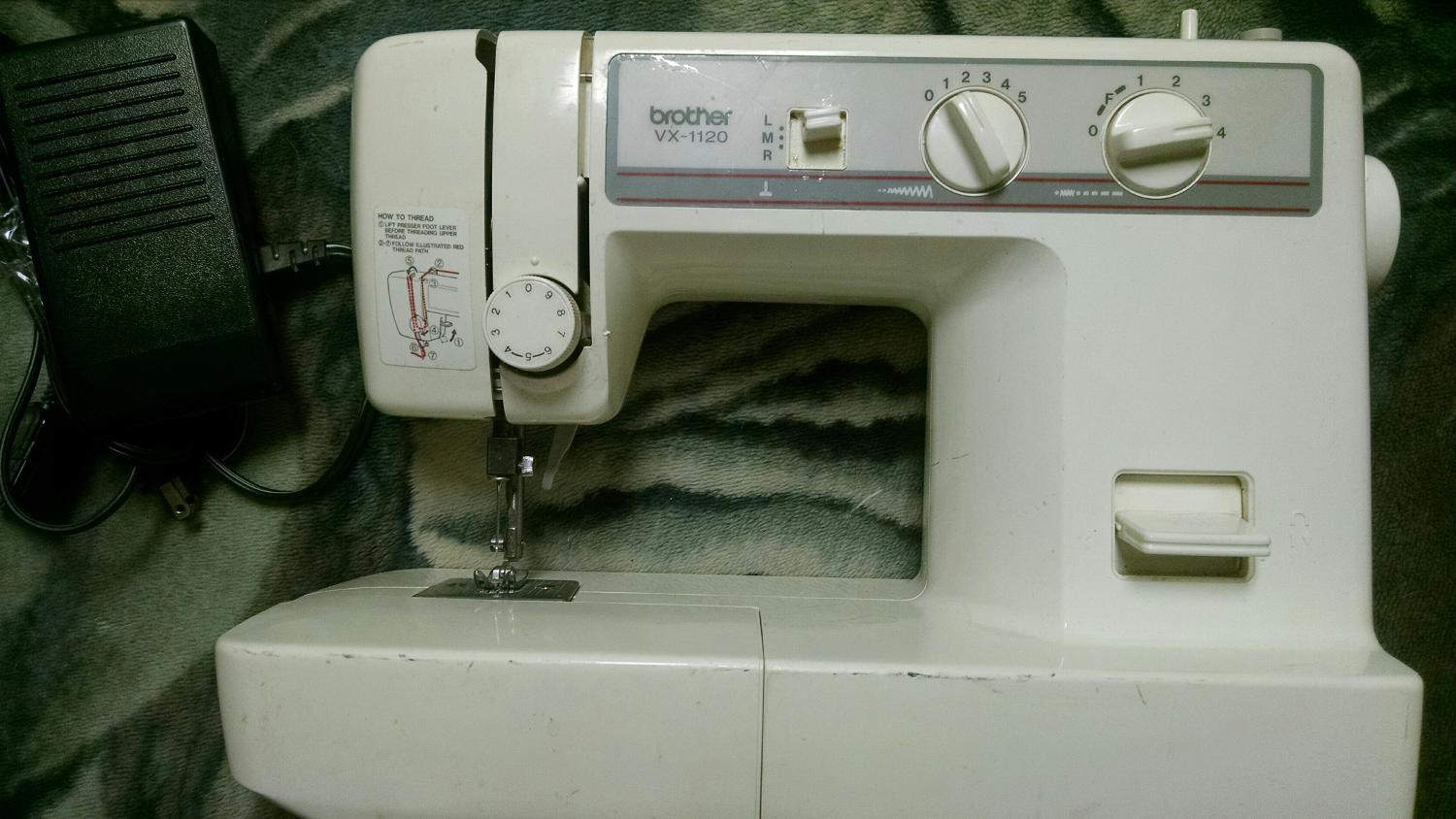 Best Brother Vx 1120 Sewing Machine Gently Used Push Pedal Adjule Thread Width And Style For In Evanston Wyoming 2018