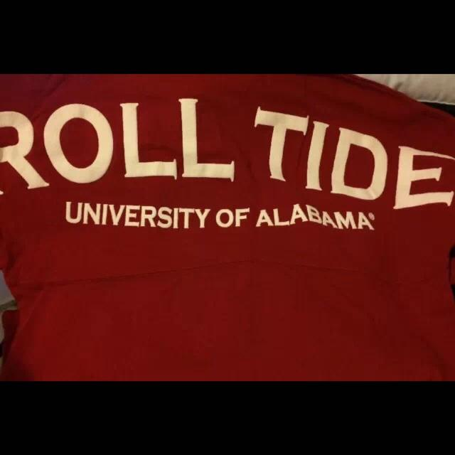 premium selection f5e80 8074b Women's 'Roll Tide' Crimson Tuskwear Spirit Jersey - New without tags.