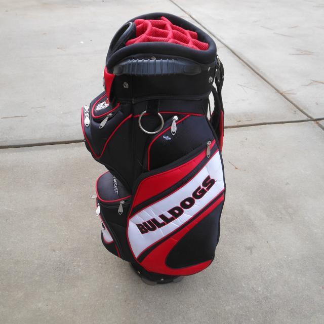 Uga Golf Cart Bag By Team Effort
