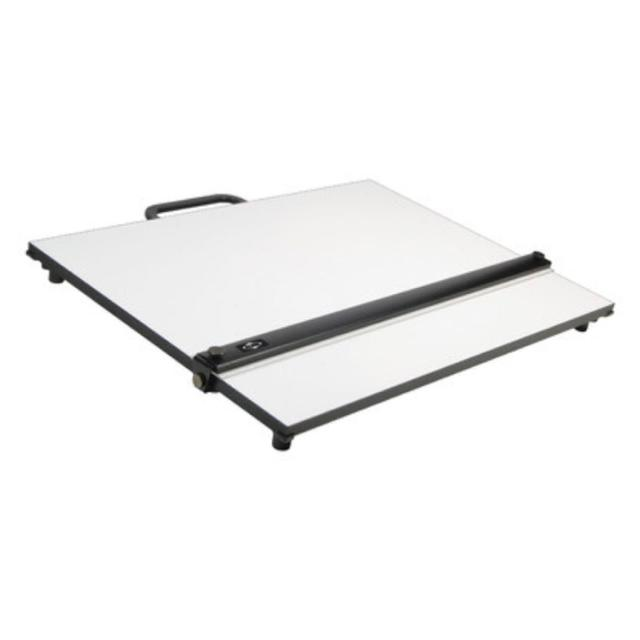 Portable Drafting Table With Parallel Straightedge