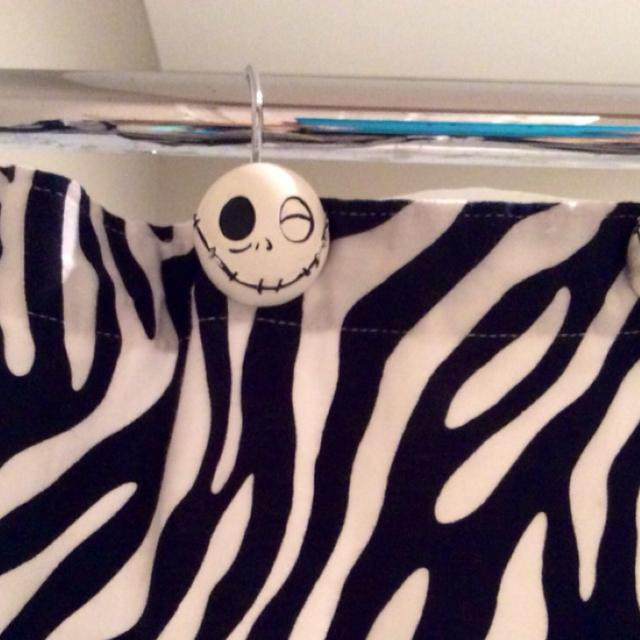 nightmare before christmas jack skellington shower curtain hooks 12
