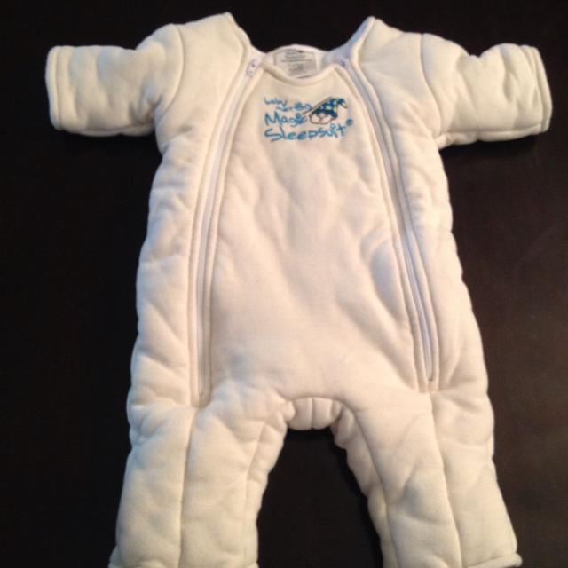 623d9514e Best Cream Cotton Baby Merlin s Magic Sleepsuit Size 6-9 Months (18 ...