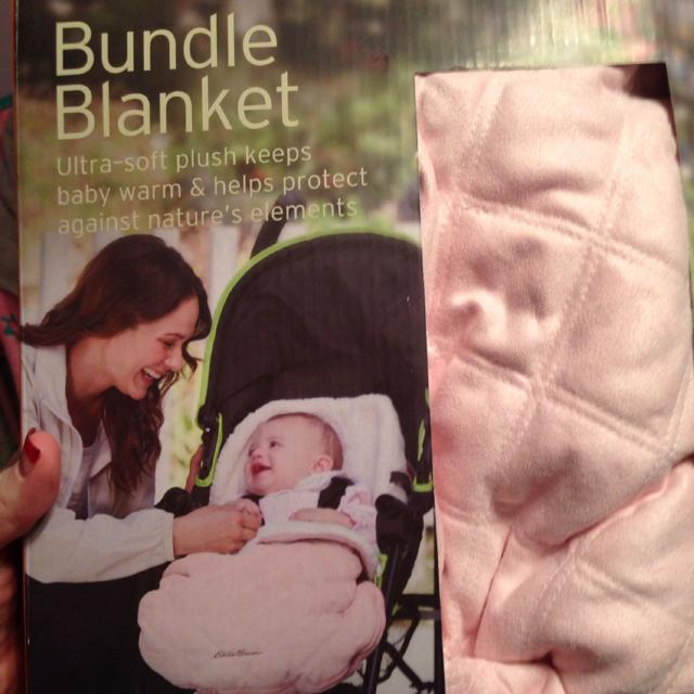 Eddie Bauer Car Seat Bundle Blanket New Never Used Can Cover Baby All