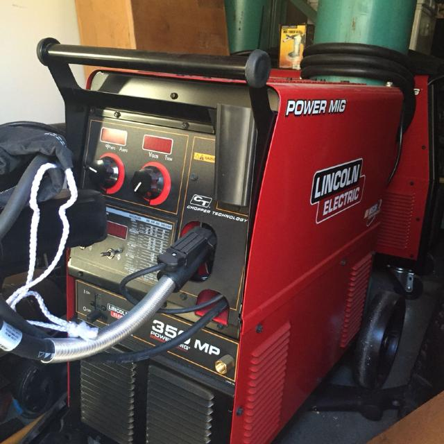Best Lincoln Electric 350 Mp Mig Welder New Condition For Sale In Murrieta California For 2020