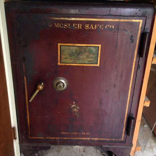 Best Antique Mosler Safe Working Condition And Have Safe