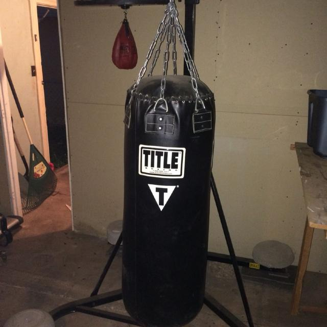 Everlast Stand Combo With Sd Bag And 200lb Le Punching