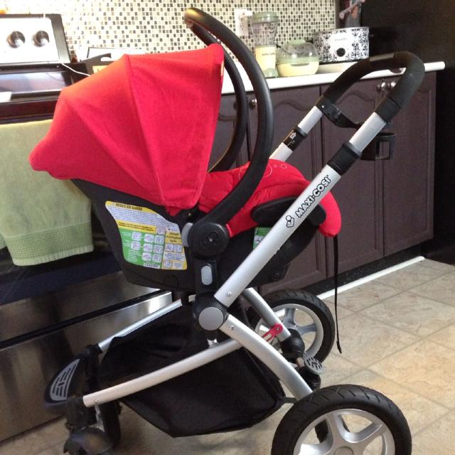 BRAND NEW NEVER USED Maxi Cosi Foray Infant Carrier Stroller Euc Mico Car