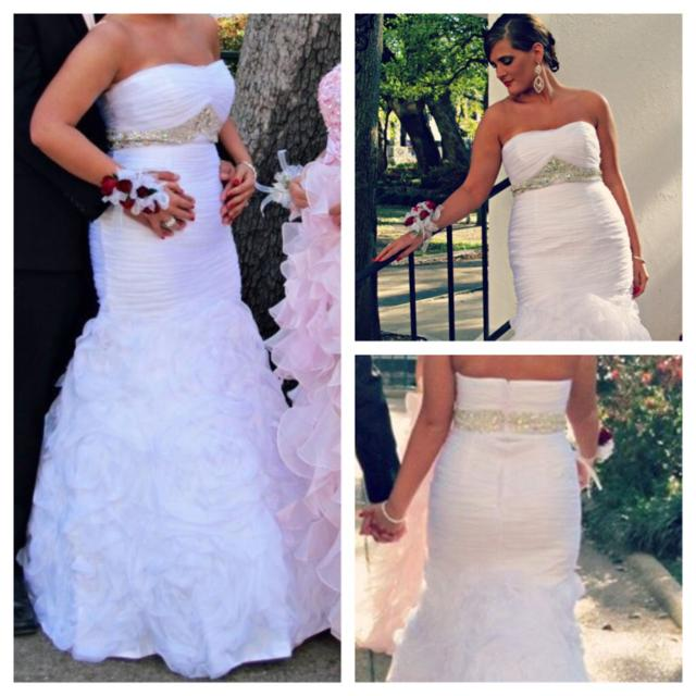 Best White Size 8 Prom Dress For Sale In Mobile Alabama For 2018