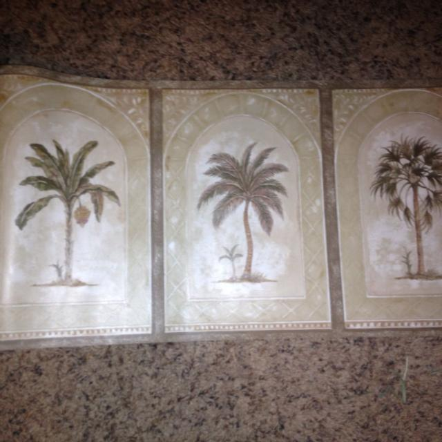 Best Palm Tree Wallpaper Border 10 In Wide And 35 Yards Length 20 For All Rescue El Dorado County California 2019