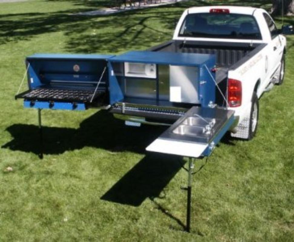 Best Cooks Pro Outdoor Bbq Tailgate Kitchen For Sale In