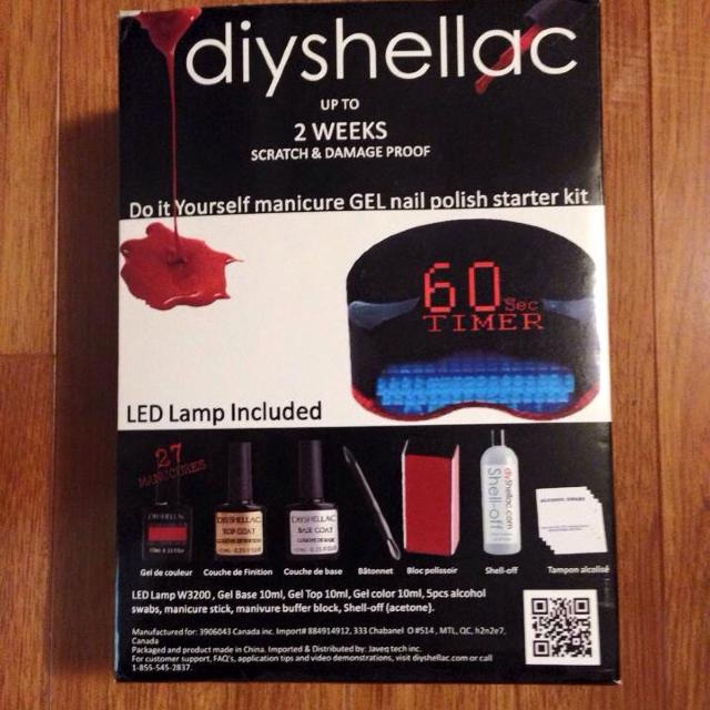 Best new in box diy shellac starter kit reduce 40 for sale in diy shellac starter kit reduce 40 solutioingenieria Gallery