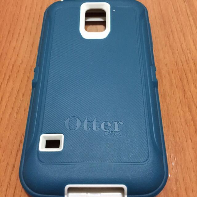 new product 24981 1dcd1 Samsung Galaxy S5 Otterbox Defender series case Aqua Blue / White