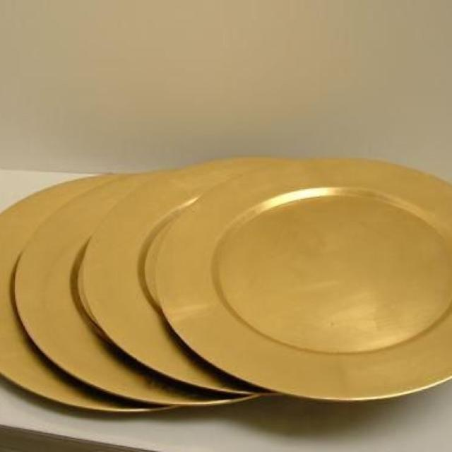 Find More Reduced Gold 13 Inch Charger Plates For Sale At Up To