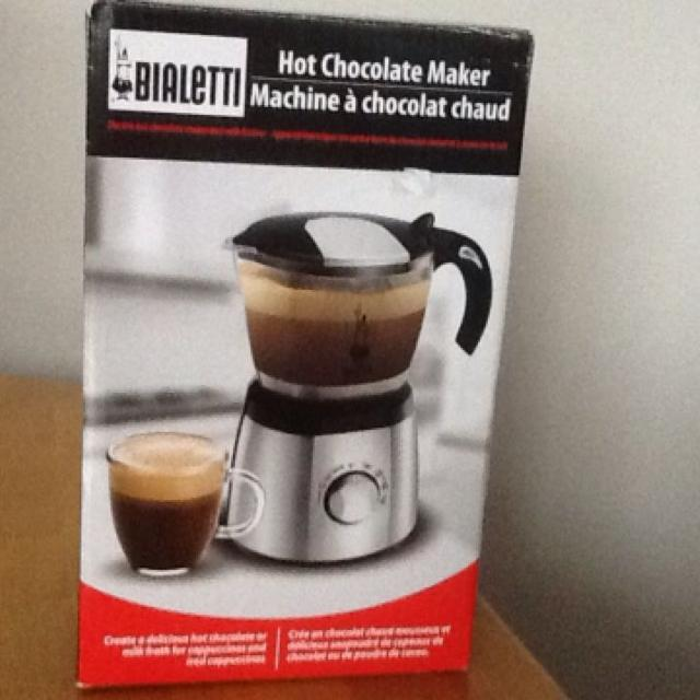 Find more Brand New !!!!! Bialetti Electric Hot Chocolate