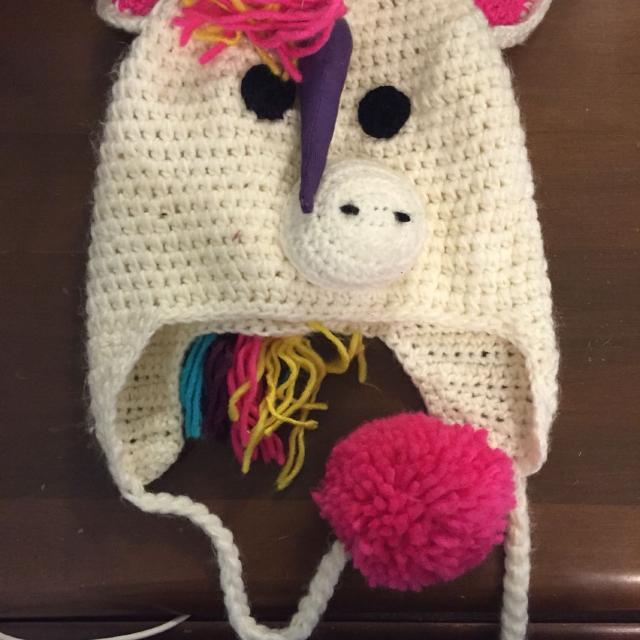 Best Unicorn Winter Hat. for sale in Hill County fa2c28c0e78