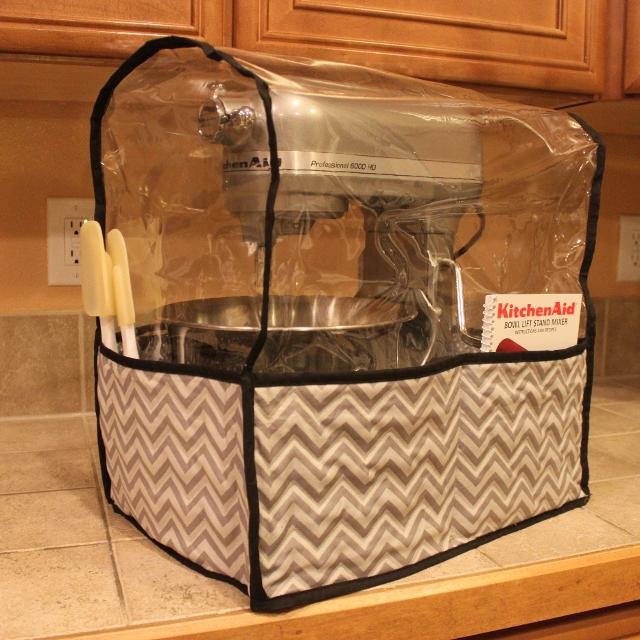 Best Handmade Clear Quilted Kitchenaid 5-6 Quarts Bowl Lift Mixer ...