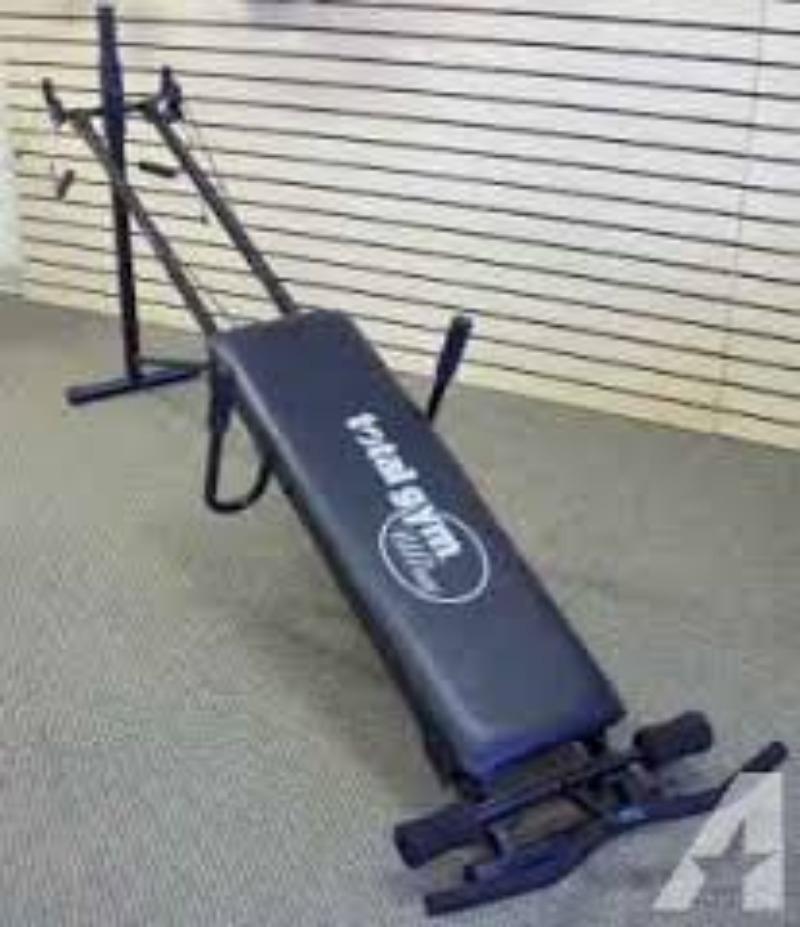 Chuck norris total gym   ebay.