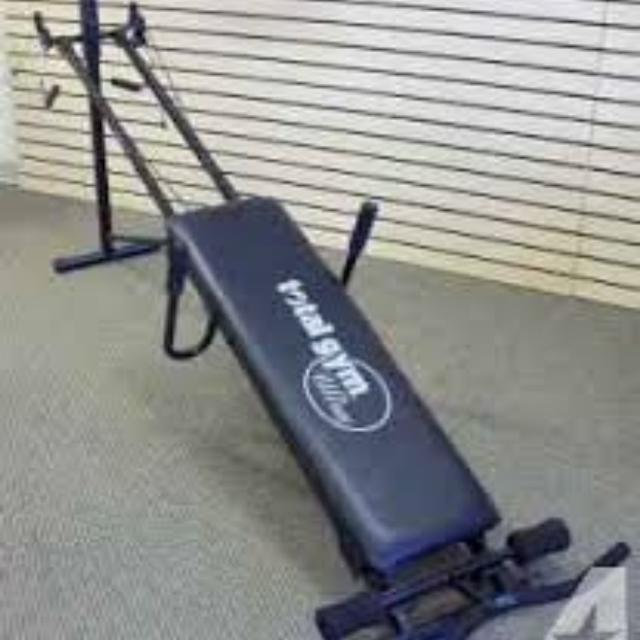 Best total gym ultra accessories and guide for sale in el dorado.