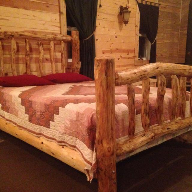 Best Custom Made Log Bed Frame For Sale In Hanover Manitoba For 2019