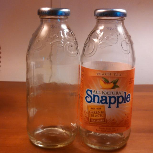 More Than 30 Empty Snapple Bottles