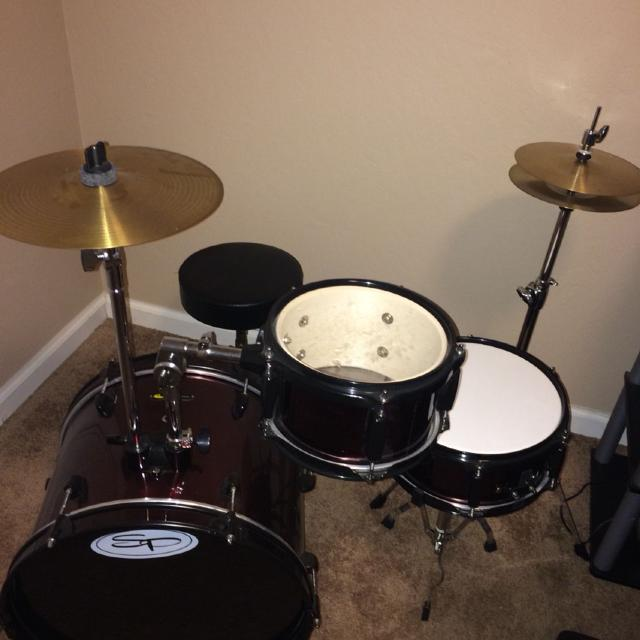 Sound Percussion Kids Drum Set