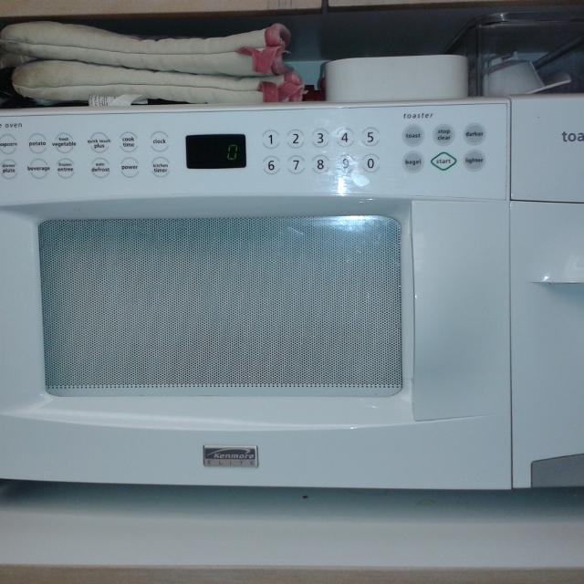 Microwave And Toaster In 1 ~ Kenmore microwave with toaster bestmicrowave