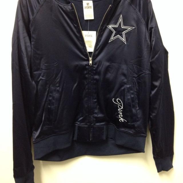 brand new 02c56 b91f5 Victoria secret Pink Dallas Cowboys jacket- brand new - size small. $20