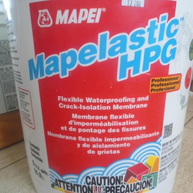 Mapei Waterproofing Membrane : Find more mapei mapelastic hpg waterproofing membrane for
