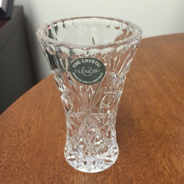 Best Lenox Crystal Star Vase 4 Inches For Sale In Surprise Arizona