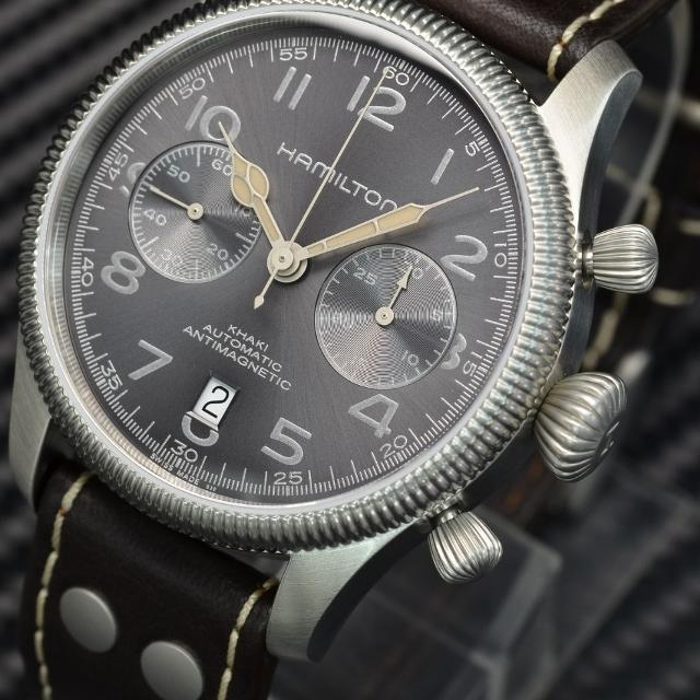 cc50fc56c Find more Hamilton Khaki Field Pioneer Chronograph Automatic Swiss ...