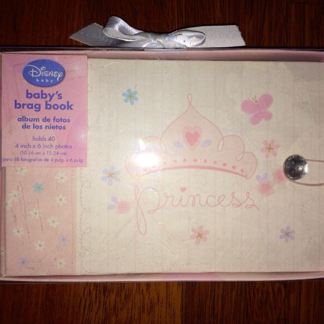 Best Disney Baby Princess Brag Book Photo Album Brand New In Box