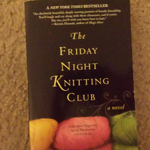 Find More The Friday Night Knitting Club By Kate Jacobs Make An